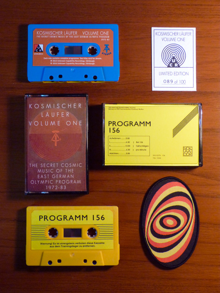A Limited Edition Cassette of Volume One was released to mark the exhibition.